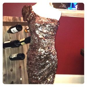 Sequin cocktail dress perfect holiday attire